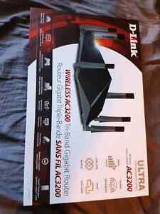 D-Link AC3200 Tri-Band Router originally  360$ Now 250$ OBO
