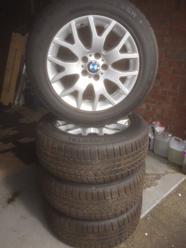 "BMW Type 177 18"" Alloy wheels and tyres as new"