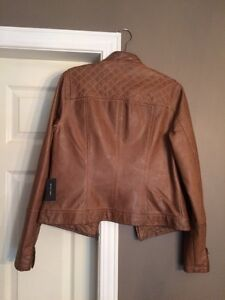 Lord and Taylor Fitted Faux Leather Jacket New Kitchener / Waterloo Kitchener Area image 3