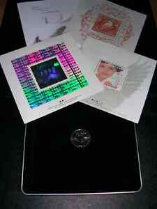 """Coin. Millenium coin & stamps set in case. """"Peace"""" 1999-2000"""