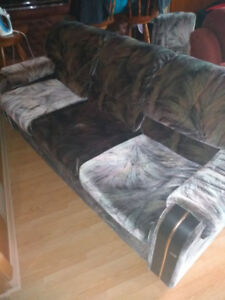 3 piece gray couches