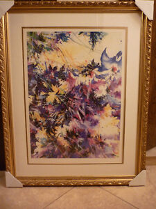 Zoe Mac, Rhapsody  Painting Lithograph - Abstract