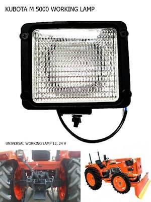 Use For Kubota Tractor M 4700 M 5000 M 8200 M 9000 Work Lamp Flood Light 1 Pc