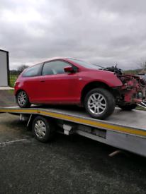 Breaking Honda Civic 1.7 diesel parts spares repair scraping