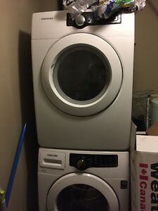 Available Immediately: Washer & Dryer Set for sale, moving sale!