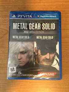 PS Vita Metal Gear Solid HD Collection - NEW, SEALED