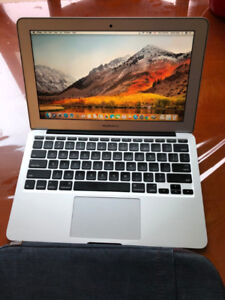Mid-2013 Macbook Air, 11 inch; 4GB RAM i7