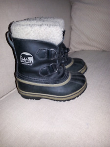 Sorel Kid's Yoot Pac Leather Size 10