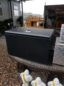 Large aluminium powder coated storage tool box for trailers trucks van