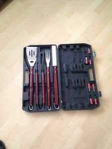 BBQ set (with case)