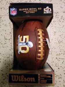 Ballon de footbal officiel du Super Bowl 50