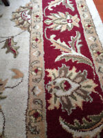 100% Wool Hand Tufted Indian Rug - EXCELLENT Condition