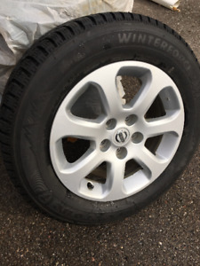 Winter Tires : Nissan Mag & Firestone Winterforce Tire