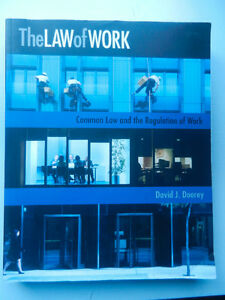 The Law of Work COMM 382