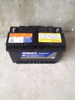 AcDelco Car battery for sale- from a BMW