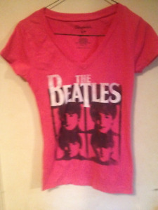 10 Ladies size small T-shirts, different colors, all great shape
