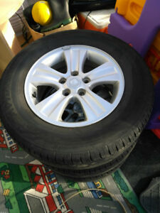 2008-2010 Saturn Vue used rims OEM with working TPS sensors