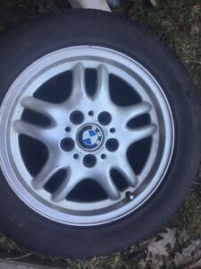 4 -BMW winter tires 225/55R16