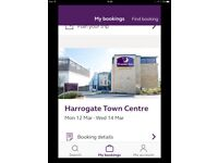 Harrogate hotel stay
