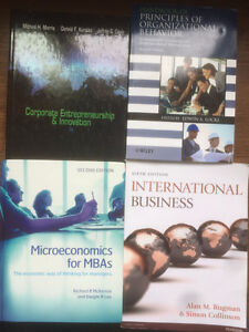 LU MBA textbooks