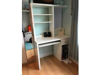 White Ikea workstation/desk