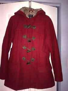 WOMAN'S LINED AMERICAN EAGLE WINTER COAT
