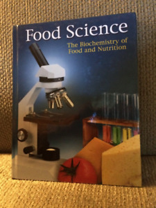 Food Science- the biochemistry of food and nutrition text book