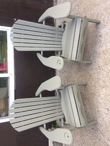 Wood Muskoka Chairs