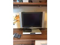 Samsung tv with philips free view plus dvd recorder