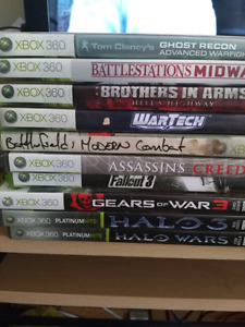 10 xbox 360 games for $30
