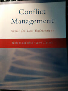 Conflict Management-Skills for Law Enforcement College Textbook