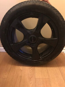 Michelin Winter Tires with Alloy Wheels