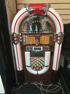 Crosley Bluetooth Full Size CD Jukebox With Storage Base Stand