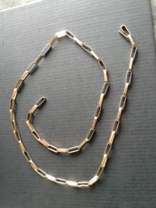 18 kt man or lady's 19 inch custom made chain