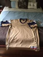 Gold Bomber Jersey