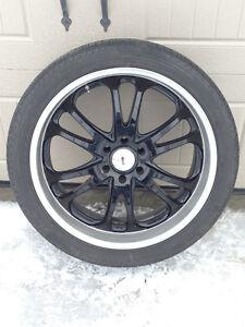 Mags noir Boss 24 pouces+ pneus
