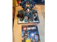 Lego dimensions PS3 with starter pack and portal pack