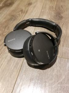 Casque Bluetooth Sony MDRXB950N1