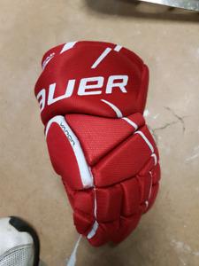 Bauer vapor youth hockey gloves