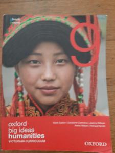 Oxford Big Ideas Humanities 9 Victorian Curriculum
