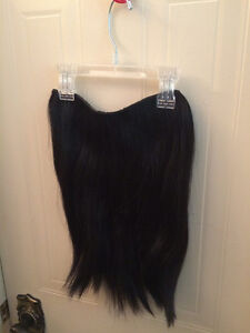 Halo Hair Extension Piece - Natural Black Kitchener / Waterloo Kitchener Area image 1
