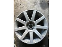 AUDI TT 18inch Alloy Wheel 18x8j Genuine Spare Alloy