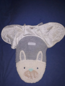 Cute Easter Bunny Baby Swaddle Wrap Blanket 0/3mts,New