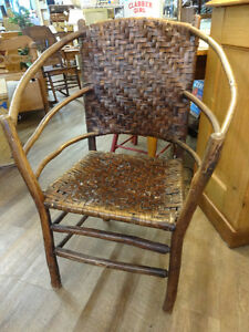 Antique Willow Chair at The Old Attic