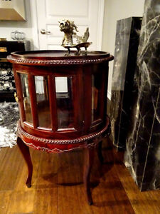 """late 1800s-early 19 Victorian 30"""" PARLOUR TABLE Wicker Seagrass Cambridge Kitchener Area image 8"""