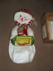 Snowman Personalized Greeter - Inflatable - Brand New