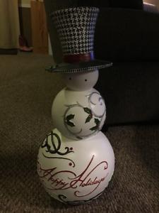 Christmas/Holiday Snowman Decoration