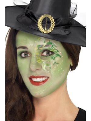 HALLOWEEN PRETTY WITCH MAKEUP KIT TATTOO, GEMS, FACE PAINT, FANCY DRESS WEAR