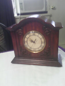 Two old clocks all wood very nice