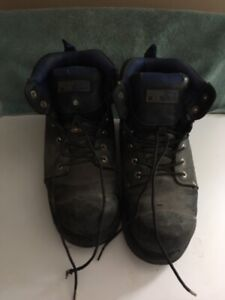 Mens Dakota Steel Toed Safety Work Boots Size 12